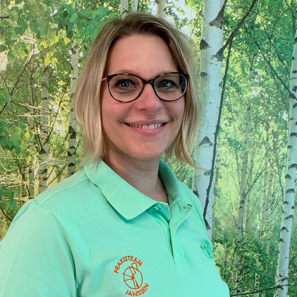 Angelika Janssen, Physiotherapeutin und Heilpraktikerin